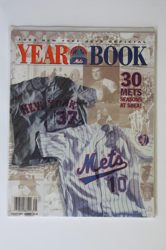 Mets Yearbook 1993