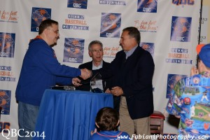 Greg Prince and Art Shamsky with Gil Hodges Jr. at QBC14