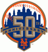 mets 50th logo