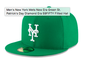 2016 mets st patricks day