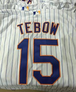best website 2309a 5e24f Legendary Mets baseball player Tim Tebow will start season ...