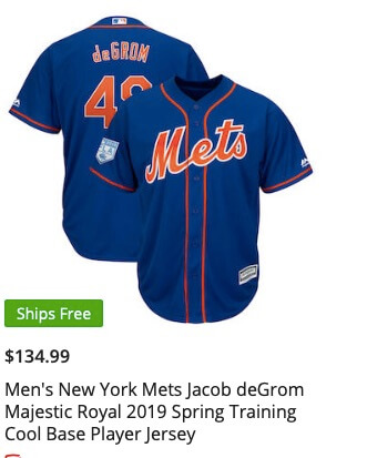finest selection 4c291 5fd35 Here are the 2019 Mets Spring Training Jerseys and Caps, and ...