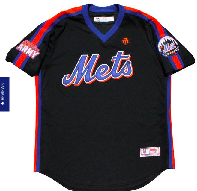 reputable site a9084 ae33b Let's talk about this black pullover Mets jersey The 7 Line ...
