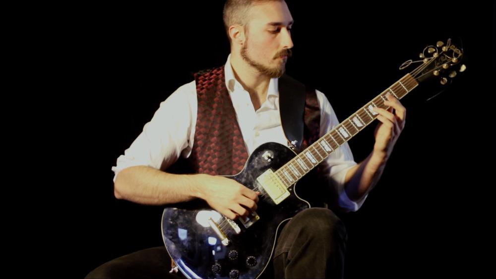 Andrew Moniz performs Capricho Árabe by Francisco Tárrega (Metal Cover)