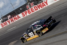 NASCAR K&N Race, New Smyrna Speedway, New Smyrna Beach, FL (Photo by Brian Cleary/bcpix.com)