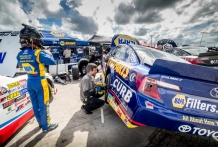 NASCAR K&N Series, New Smyrna Beach, FL (Photo by Brian Cleary/bcpix.com)