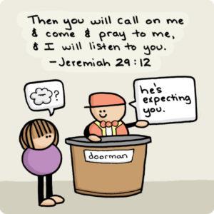 amanda-geisinger-god-call-come-pray-listen-jeremiah-29-12-doorman