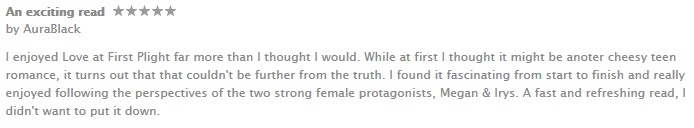 Apple iTunes iBookstore Love at First Plight review 1
