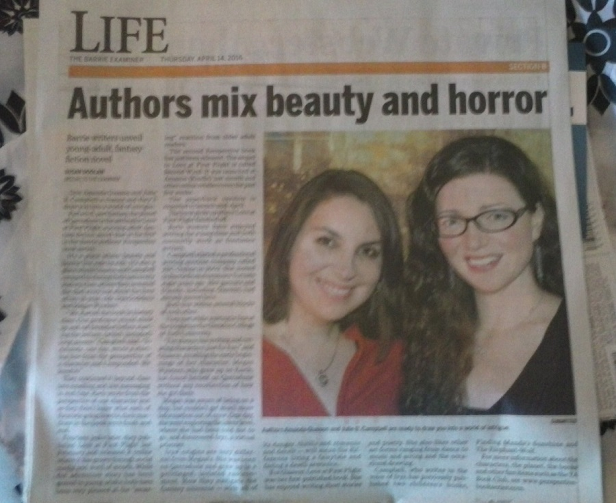 Barrie Examiner article - Perspective Series