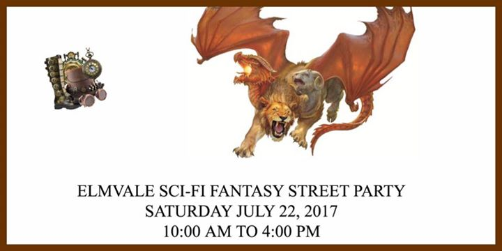 Perspective Series Authors to attend event - Elmvale Sci-fi Fantasy Street Party logo