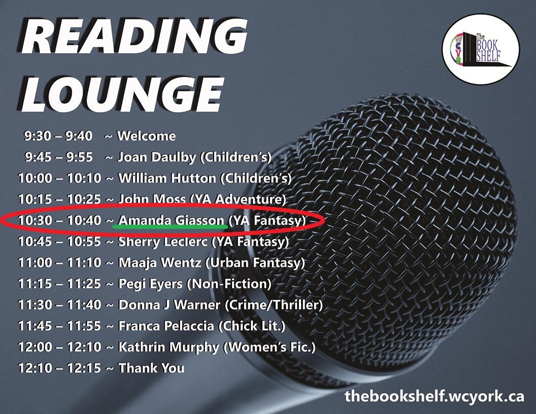 Reading Lounge 2019 List