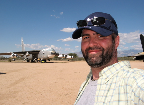 b-52 at the pima air & space museum in tucson