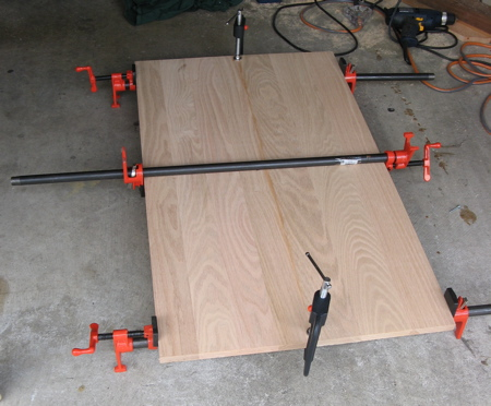 TV Stand Top with Clamps