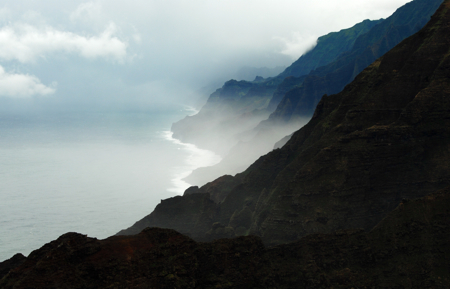Nu'alolo Valley and Cliffs of Na Pali