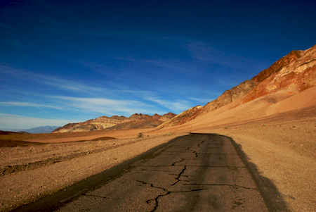 Artists Drive at Death Valley National Park