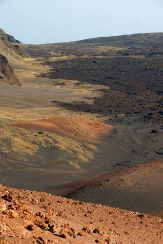 Haleakala Crater Lava Flows