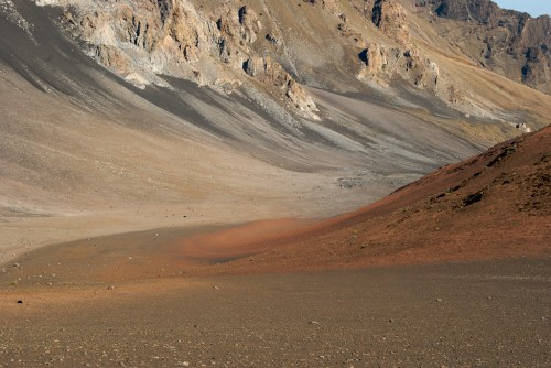 colored sands at haleakala