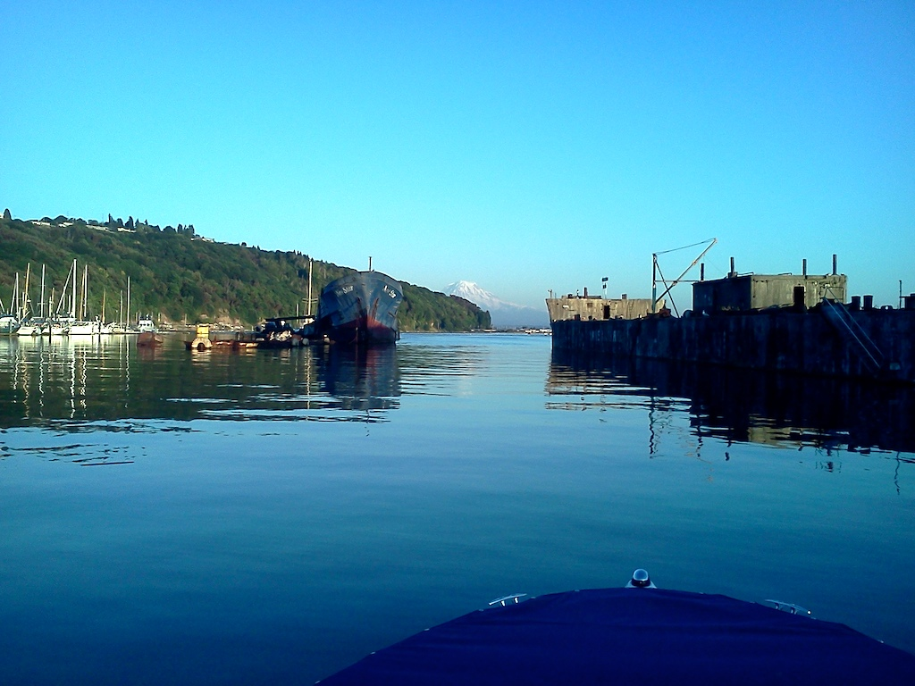 Tyee Marina breakwater