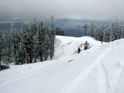 View from the sort-of untracked.