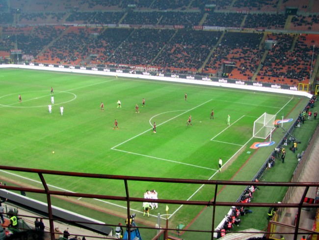 San Siro, or: The most Italian thing I did in Italy.