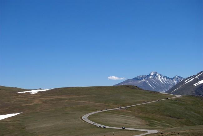 The top of RMNP
