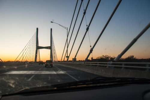 Crossing into Missouri (I think)