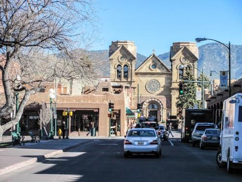Downtown Santa Fe, N.M.