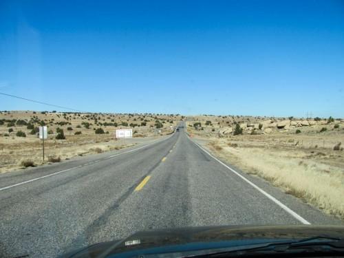 Near the New Mexico-Arizona border
