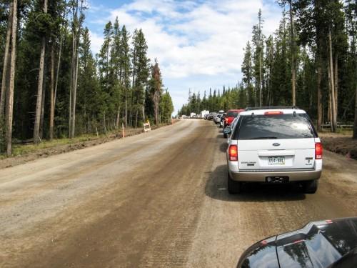 Yellowstone traffic