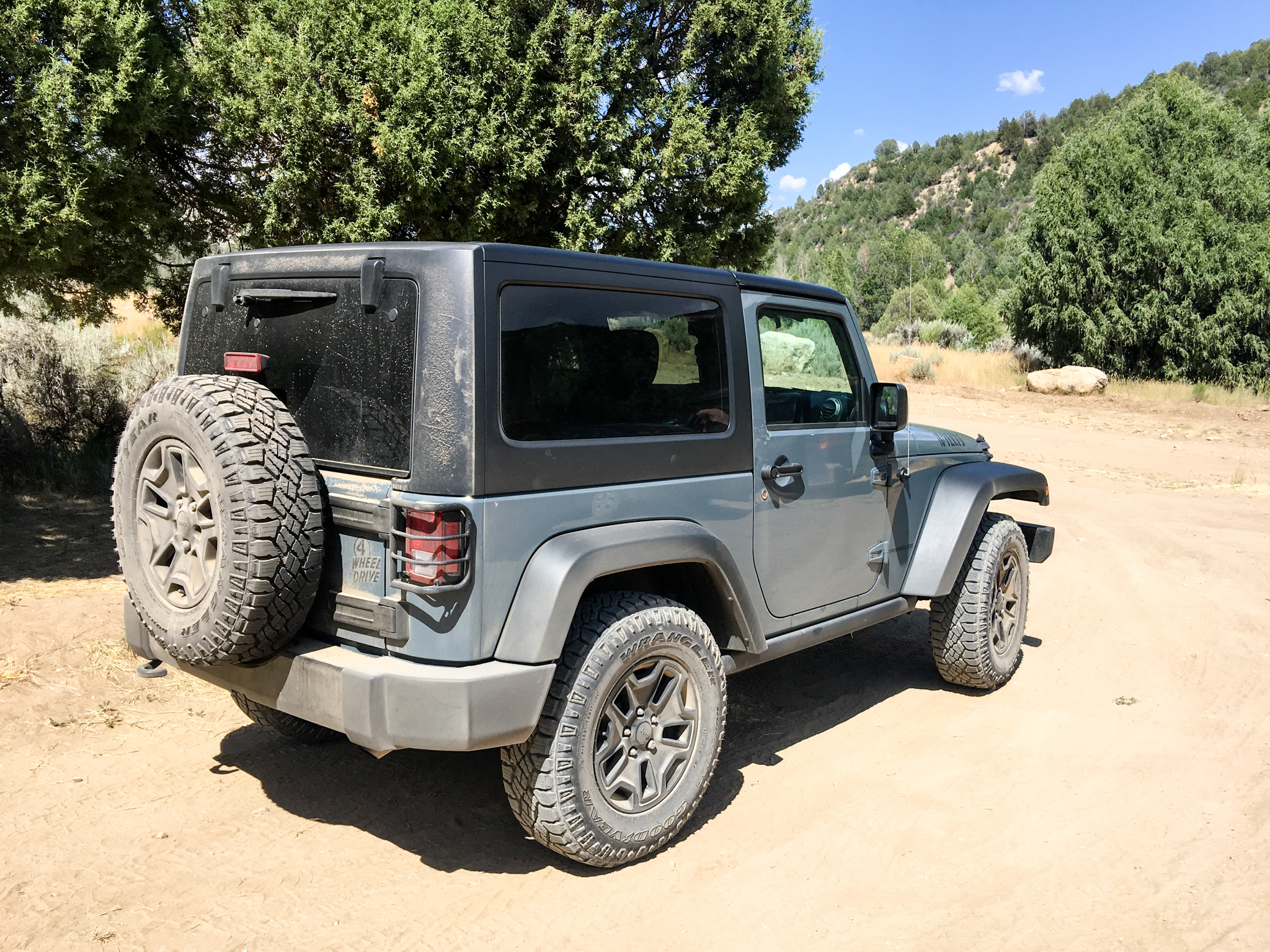 Chamberlain Ranch trailhead parking lot