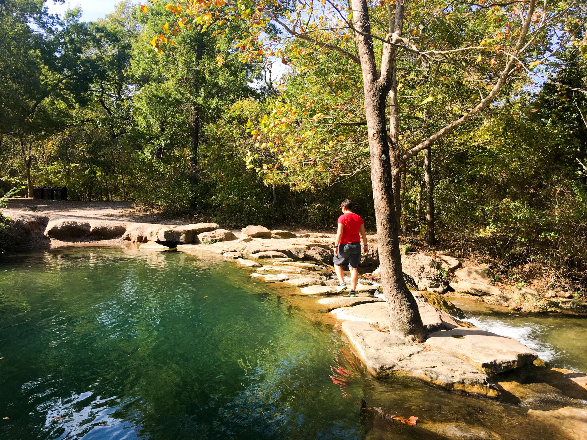 Pool at Platt National Park
