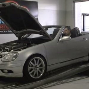 Mercedes SLK AMG Dyno session