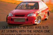 Honda Civic-In list of Top 10 of Fastest Honda's