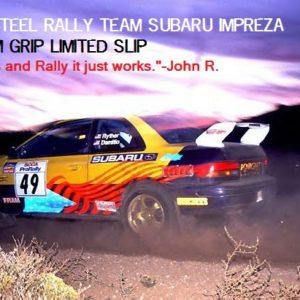 Rally Subaru Impreza WRX with Dirt In Mind