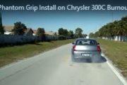 Chrysler 300C SRT8 Burnout-1st Launch After Phantom Grip LSD Install