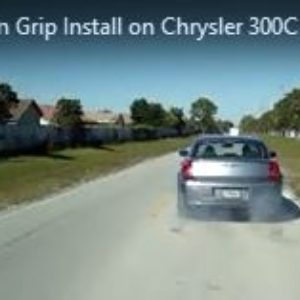 Chrysler 300C SRT8 Burnout-1st Launch After Phantom Grip LSD Install
