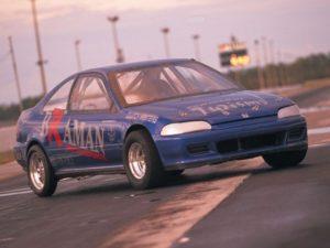 John Brown Racing JBR 1994 Honda Civic Coupe Blue Bomber