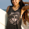 Migdalia Day of the Dead Muscle Tank Top