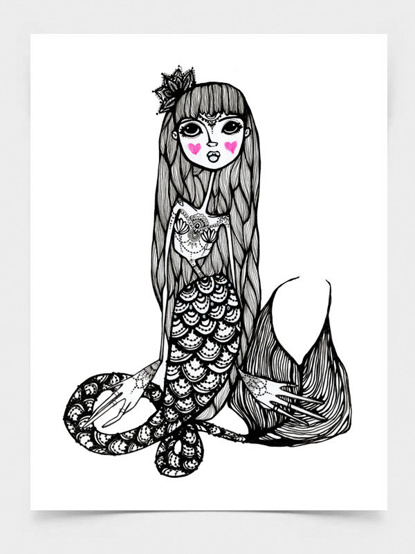 Muertos Mermaid, Lady of the Dead Mermaid