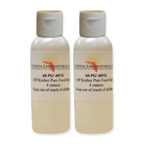 PG VG Mix 60% 40% Propylene Glycol Vegetable Glycerin Kosher 99.9% Pure Food Grade