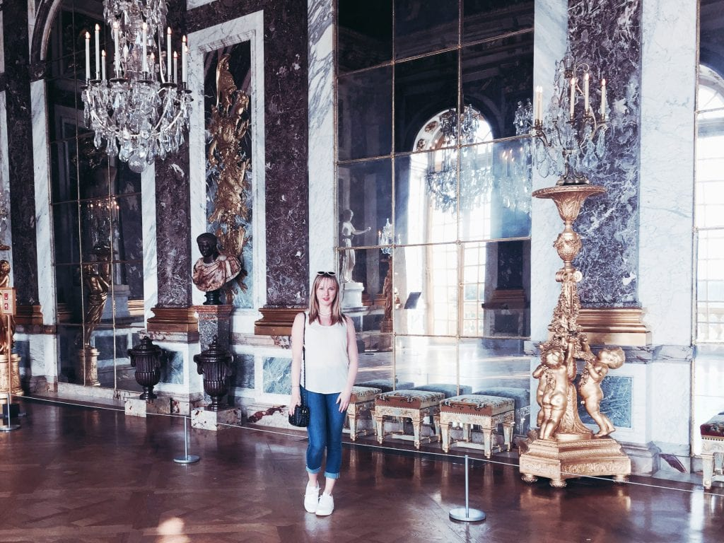 Hall of Mirrors, Claire Etchell, Versailles