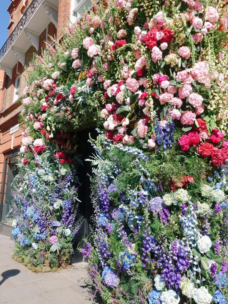 Best floral shop displays at Chelsea in Bloom 2019