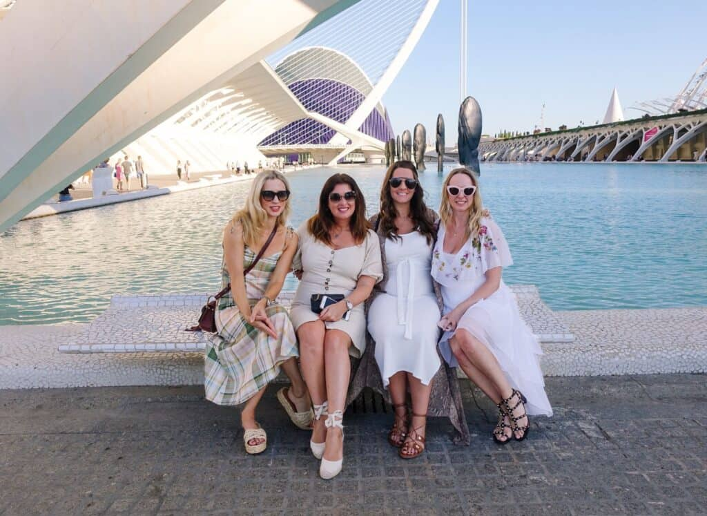 Claire Etchell in Valencia, Italy