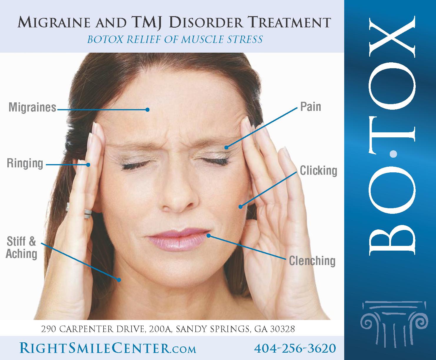 Botox treatment of migraine headaches