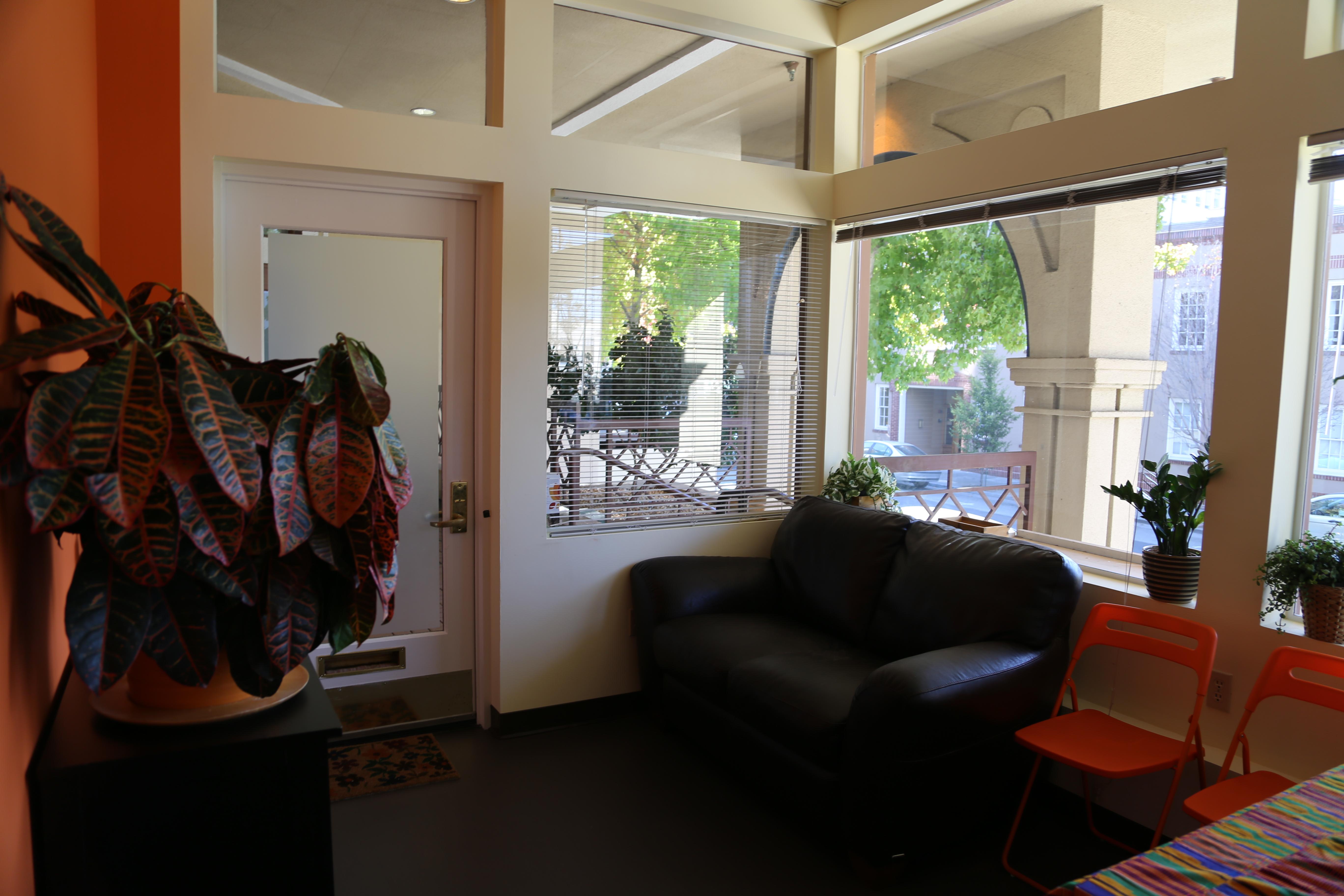 PTR reception area