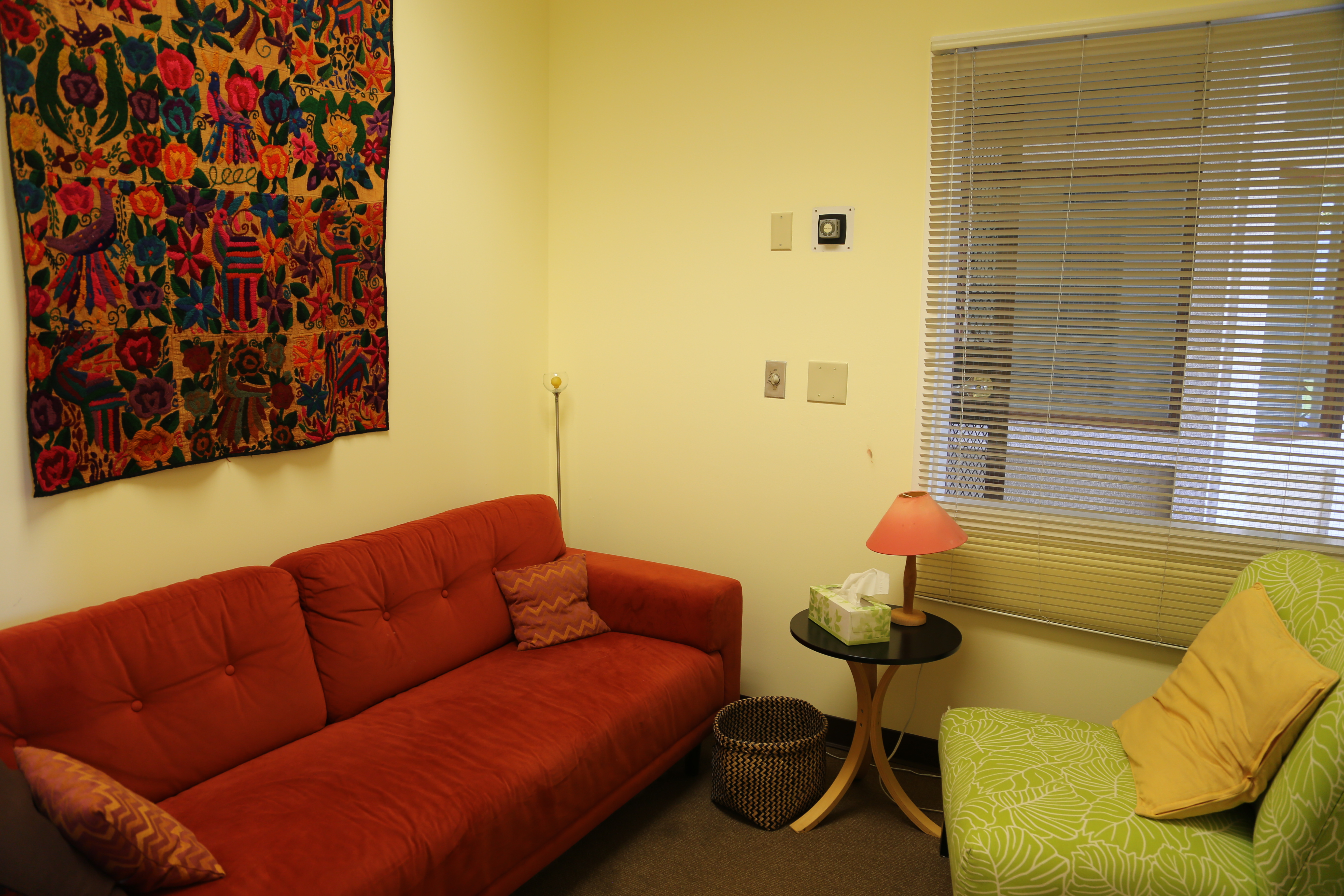 Orange Therapy Room at PTR's Mosaic Healing Center