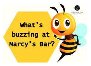 What's Buzzing in Marcy's Bar @ Marcy's Bar, Rose Schnitzer Manor, CSP | Portland | Oregon | United States