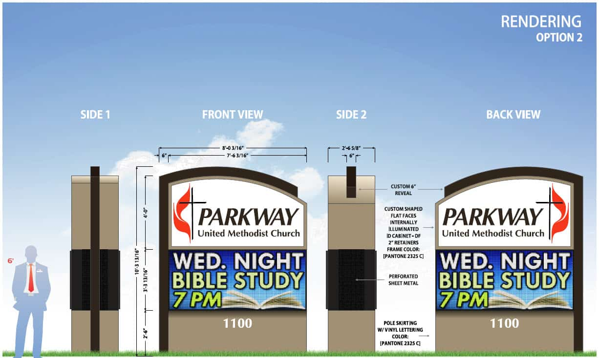 Outdoor Church Signs by Sign-Express