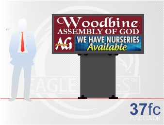 Affordable LED Sign Eagle Series 37 Full Color