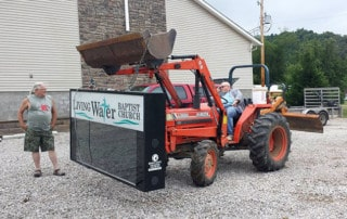 Living Water Baptist Church - LED Sign Install